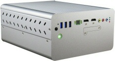EmRunner 5639, embedded system based on Intel Celeron N3160 quad core CPU, with expansion slots